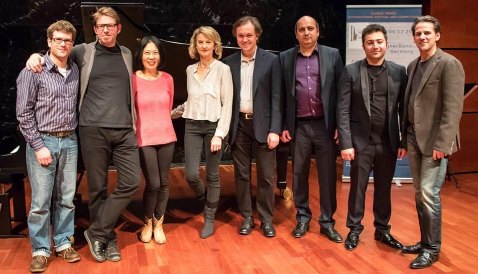 """Wir sind glücklich und stolz darüber, das """"Classical Winds"""" internationalen Musikfestivals 2016 einführen zu können."""