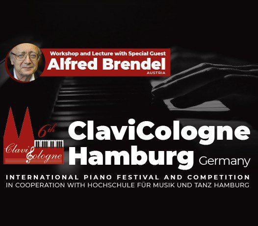 """Klavierfestival """"ClaviCologne"""" 2019 erstmals in der Hansestadt Hamburg"""